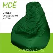 """Кресло-груша """"Травка"""", ткань - дюспо, размер 90х120см. объем - 270 литров, вес 3,5 кг."""